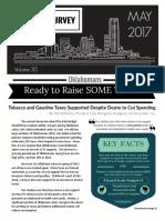 Sooner Survey, May 2017