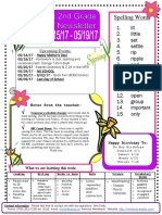 newsletter wk 38
