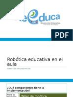 Robotica en El Aula