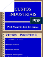Custos Industriais . 01