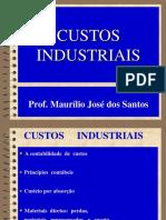 Custos Industriais . 01