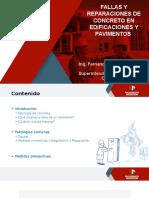 Fallas y Reparaciones - Edificaciones y Pavimentos.