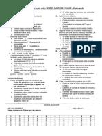 Evaluación de Plan Lector Sobre