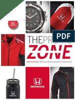 Honda 2015 Merch Brochure English
