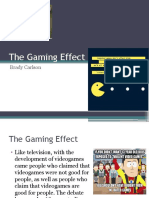 the gaming effect