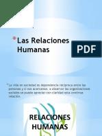Las Relaciones Humanas
