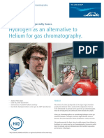 HiQ App Note Hydrogen as Alternative to Helium for Gas Chromotography 1217 82071