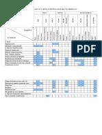 Matriz de Leopold - EIA