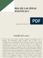 programa de historia de las ideas 2, UNMSM