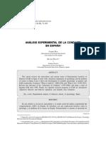 Análisis experimental de la conducta en España.pdf