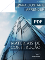 Materiais de Construção - Para Aprender e Gostar