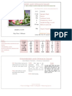 Microsoft Word - Recipe Card - Strawberry Spinach Salad