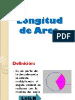 Ejercicios Longitud de Arco y Sector Circular