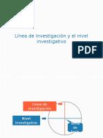 Capitulo 1 - Linea de Investigación y Nivel de Investigación