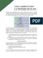 Transcripción Cuaderno Dani Anatomía y Fisiología de La Voz 1