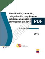 Instructivo Captacion, Categorizacion y Seguimiento Con Enfoque de Riesgo-DNN-11!07!16