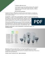 Becuri LED Ieftine, Cu Lumina Calda Sau Rece