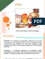 4a. Aula -Proteinas - Rosa