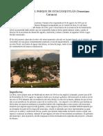 Afectación Del Parque de Ixtaczoquitlán ENSAYO