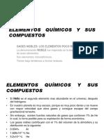 Elementos Qelementos quimicos y sus compuestosuímicos y Sus Compuestos 2