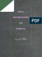 Legal Argumentation and Evidence