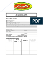 Arnotts Application Form (3)