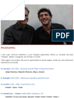 Duo Vannucci Torrigiani - Associazione Culturale Giovanni Colafemmina
