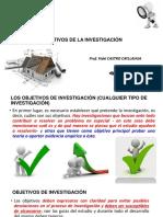 5 Objetivos de La Investigacion 2017