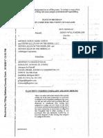 Fieger files sex assault suit against Mike Morse