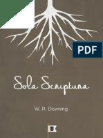 William R. Downing - Sola Scriptura