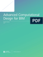 Adv Comp Design for BIM - Student Manual