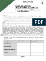 Guia de actividades_MICROORGANISMOS Y AGENTES _7° 2017doc
