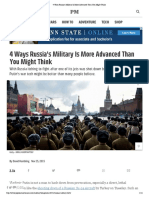 4 Ways Russia's Military is More Advanced Than You Might Think