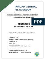 Central Hidroeléctrica Guanopolo