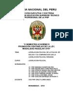 Monografia Legislacion Policial de Bolivia y Su Comparacion Con La Legislacion Policial Peruano