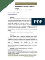 RODRIGUEZ-Dialnet-La Critica de La Modernidad en Adorno