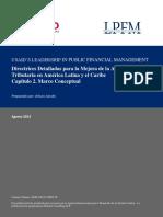 Directrices Detalladas Para La Mejora de La Administración Tributaria en América Latina y El Caribe