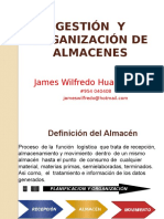 Gestion de Almacenes James