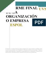 FOR-UVS-15 INFORME FINAL PRACTICAS ORGANIZACIÓN O EMPRESA V2 2016-07-20.docx