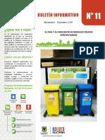 Boletín PIGA  11° - Residuos 2