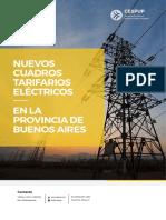 Cuadros tarifarios eléctricos en la Provincia de Buenos Aires