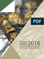 informe Camimex 2016