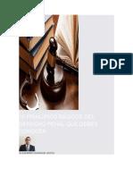 10 Principios Básicos Del Derecho Penal Que Debes Conocer