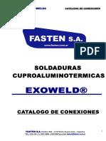 M - Soldaduraspara Puesta a Tierra EXOWELD - Master de Conexiones