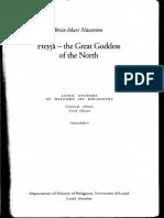 Nasstrom, B.M Freyja the Great Goddess of the North BOOK NON PDF