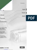 Canon HG10 User Manual