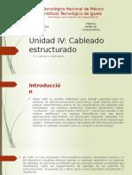 Unidad IV cableado estructurado