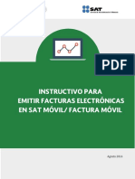 Instructivo FE en SAT Móvil_Factura Móvil