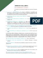 Cuestionario Derecho Civil Libro i