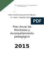 CLAUDIA-PLAN DE MONITOREO Y ACOMP. I.E.N°14418-RAMÓN CASTILLA